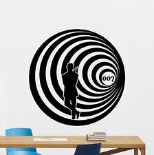 James Bond Wall Decal Agent 007 Poster Vinyl Stickers Spy Movie Decor Art 58zzz