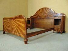 Walnut Art Deco 20th Century Antique Beds