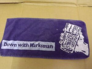 Vintage Marksman  Lager Bar Towel used (137)