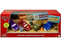 Disney Pixar CARS 2020 - Welcome to Radiator Springs 4-PACK Exclusive SARGE RARE