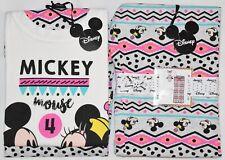 PRIMARK PJ Mickey Mouse & Minnie Mouse DISNEY PYJAMAS SET UK Sizes 6 to 16
