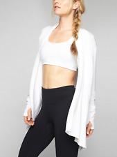 NWOT  Athleta Pranayama Wrap Jacket cover up White SZ M  #777944 E88