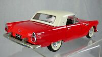 FORD THUNDERBIRD V8 American Muscle RED ROAD TOUGH 1/18 1955 Toy Model Car
