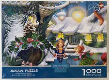 HIGH QUALITY JIGSAW PUZZLES 1000 PIECE JIGSAW CHRISTMAS ELVES NEW SEALED