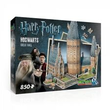 Harry Potter Hogwarts Great Hall 3d Puzzle From Wrebbit