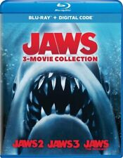 Jaws 3-Movie Collection, Blu-ray, New, Pre-Order, Releases Sept 29, No Digital