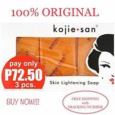 New Kojie San Skin Whitening Lightening Bleaching Deep Cleaning Soap 65g x 3bars