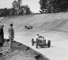 MG K3 magnette of Reg Parnell racing at Brooklands MORRIS GARAGE OLD LARGE PHOTO