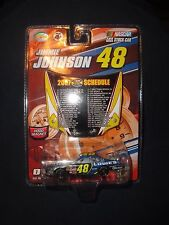 2007 WC JIMMY JOHNSON's #48 Lowes 1:64 w/ Hood Magnet- Championship Schedule