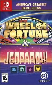Wheel of Fortune & Jeopardy! Nintendo Switch Brand New Sealed FREE SHIPPING