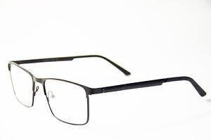 stabile Herren Lesebrille aus Metall Brille Lesehilfe schwarz +1,0 bis + 5,0 Neu