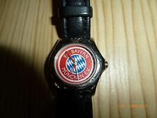 """Armbanduhr von FC Bayern München von adidas """"Echt Leder Armband, Wasserdicht"""""""