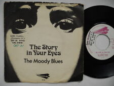 """MOODY BLUES The Story In Your Eyes / My Song 45 7"""" single 1971 Sweden"""