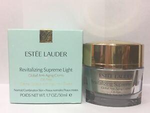 Estee Lauder Revitalizing Supreme Light Global Anti-Aging Oil Free Creme 1.7oz