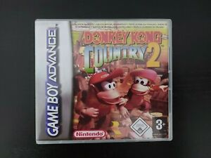 Nintendo Gameboy Advance Donkey Kong Country 2 GBA Genuine Cart