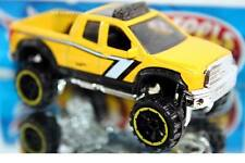 2016 Hot Wheels Hot Trucks 2010 Toyota Tundra yellow off-road