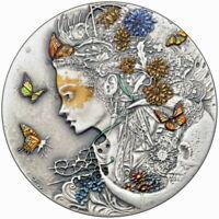 Silbermünze 2020 Niue 2$ ANASTASIYA Dark Beauties 50g Silver Coin 999 | Le Grand