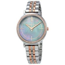 Michael Kors MK3642 Women's -T ToneMother of pearl dial Watch