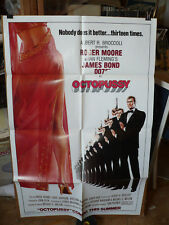 """OCTOPUSSY, orig advance 1-sht """"A"""" / movie poster [Roger Moore as James Bond]"""