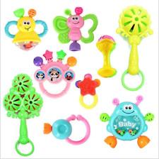 9 STÜCKE Set Cartoon Baby Glocke Rasseln Neugeborenen Musik Spielzeug für Kinder
