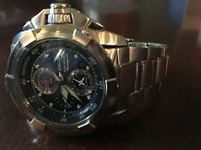 "WOW!  SEIKO ""Velatura"" MEN'S CHRONO w/ALARM & DATE!  SELLING ON AMAZON FOR $550!"