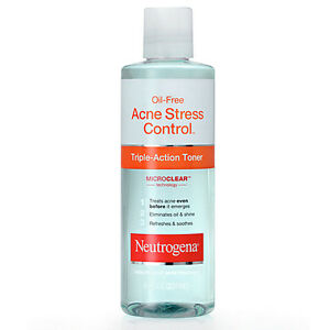 Neutrogena Oil-Free Acne Stress Control Triple-Action Toner 8 fl oz (237 ml)