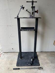 Golf Club Loft & Lie Bending Machine by Maltby Golfworks