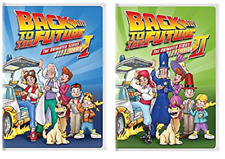 Back to the Future: The Animated Series - First Second Season 1 2 One Two (DVD)