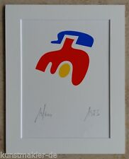 Otmar ALT (17.7.1940) Original Serigraphie 1973 Apparatschik Komposition 08/10