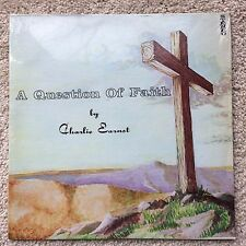 """CHARLIE EARNST """"QUESTION OF FAITH"""" LP 74 private xian folk rock psych neil young"""
