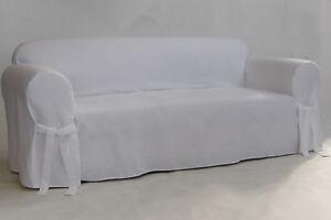 Twill one piece Sofa Slip Cover Cotton sofa