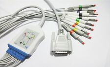 10Leads ECG ECG Cable For Spacelabs SL6 Mindray DECG-03A Edan AHA Banana4.0 SE-3