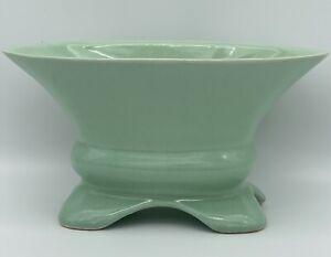 Brush McCoy USA Pottery Mint Green Planter