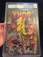 🔥Thor #158 CGC 8.5 OW KEY ~ **Origin of Thor Retold** ~ OLD LABEL BEAUTY!!🔥