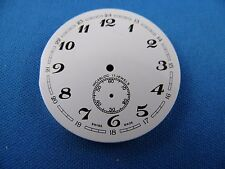 Vintage Pocket Watch Dial 37.5mm -Swiss Made- Incabloc -17 Jewels- #113