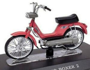 Piaggio Boxer 2 - 50 Cc 1972-78 Moped Mofa Moped Red 1:18 Atlas