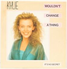 Wouldn't change a thing  Kylie Minogue Vinyl Record