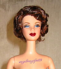Publicity tour Barbie Nude Short curly brunette hair for ooak or play