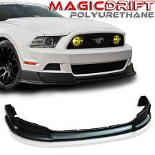 2013-2014 Ford Mustang RTR Style Urethane Front Bumper Chin Lip Spoiler GT V6 V8