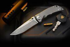 Spartan Blades Knife Harsey Folder 3.25 S45VN Frame Lock Stonewash