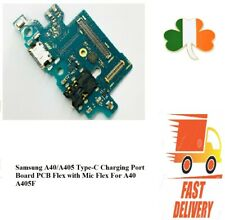Samsung A40/A405 Type-C Charging Port Board PCB Flex with Mic Flex For A40 A405F