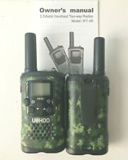 UOKOO WT-48 Walkie Talkies 22 Channel FRS GMRS Two Way Radio