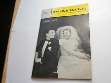 Playbill Program I Do! I Do ! 46th St Theatre 1966 Mary Martin Robert Preston