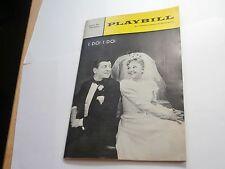 Playbill Program I Do! I Do ! 46th St Theatre 1966 Mary Martin Robert Preston