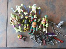 6 Teenage Mutant Ninja Turtles Figures Toy with accessories