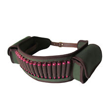 Bandolier Rifle Cartridges Belt Ammo Strap Bullets Hold Pouch Military Shooting