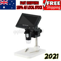 "4.3"" 1000X HD LCD Monitor Electronic Digital Video Microscope LED Magnifier"