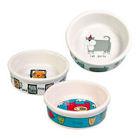 Trixie Ceramic Bowl Cat Kitten 200ml 0.2l Water Food Dish