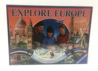Vintage 1992 Ravensburger EXPLORE EUROPE Board Game Brand New & Sealed