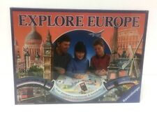 Explore Europe The Family Travel Board Game 100 Complete Ravensburger Age 10